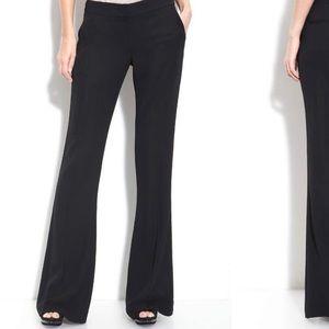 Theory black suit pants